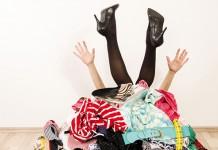 Quanti abiti nell'armadio!