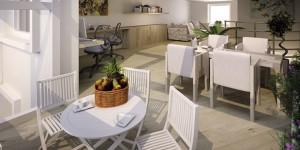 Interno progetto casa Vavassori