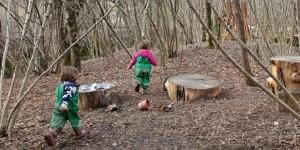 Nella Valle del Lujo di Albino educazione libera in natura