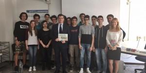 Incontro con il Presidente del Collegio dei Periti Industriali e dei Periti Industriali laureati di Bergamo