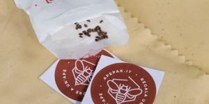 Dalle api la pellicola biodegradabile