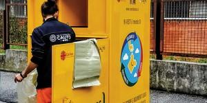 Cassonetti gialli di Cauto