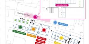 La mappa e il programma della 1ª edizione del Festival della SOStenibilità di Treviglio