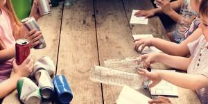 Riciclo creativo con i laboratori di G.Eco