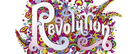 """Revolution"", 1968 by Alan Aldridge/Harry Willock/Iconic Images"