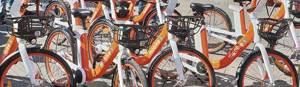Il bike sharing conquista la città. Mobike: 30 mila corse in 8 mesi