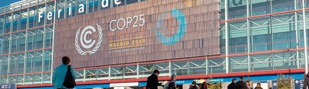 Dal fallimento mondiale della Cop25 di Madrid allo slancio dello European Green Deal