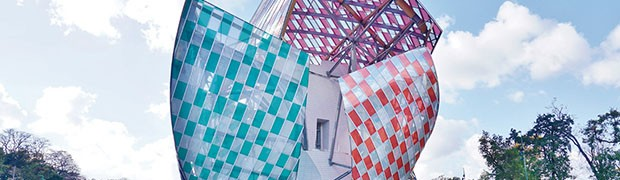 Fondazione Louis Vuitton: il veliero di vetro nel giardino di Parigi