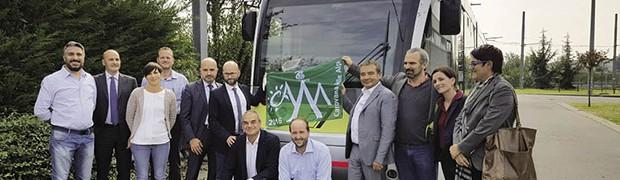 Il Tram delle Valli riceve la bandiera verde della sostenibilità