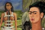 Da sinistra: Frida Kahlo, Autoritratto con scimmia - Columnarota