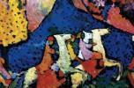 Vasilij Kandinskij, Montagna blu (1908 - 1909)