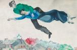 Marc Chagall - I musicanti, ca 1911 tempera su carta grigia, 18,5 x 18,7 cm Galleria di Stato Tretjakov di Mosca © The State Tretyakov Gallery, Moscow, Russia © Chagall ®, by SIAE 201
