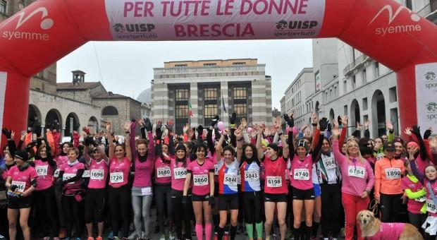 La corsa rosa a Brescia
