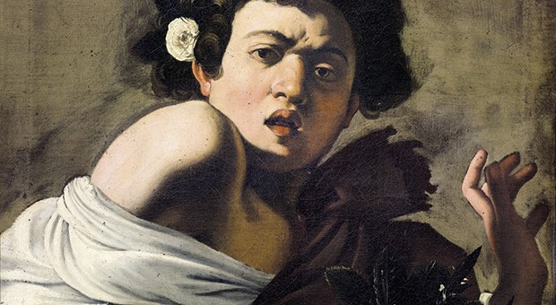 Caravaggio, Fanciullo morso da un ramarro
