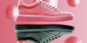 Se le scarpe nascono dalle chewing gum