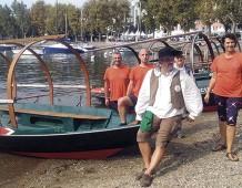 Sul lago dei Promessi Sposi con le Lucie Manzoniane