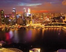 Una passeggiata tra gli alberi solari di Singapore