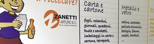 Zanetti Arturo & C. Srl. Dai servizi ecologici all'educazione ambientale