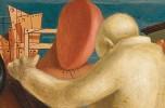 Giorgio de Chirico, Il figliol prodigo, 1922 Tempera su tela, 87 x 59 cm, particolare © G. de Chirico by SIAE 2019