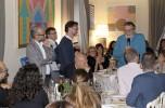 Claudio Bonfanti premiato alla cena di compleanno di infoSOStenibile