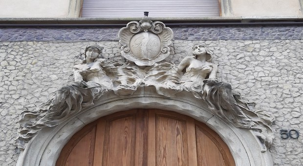 Bergamo scolpita