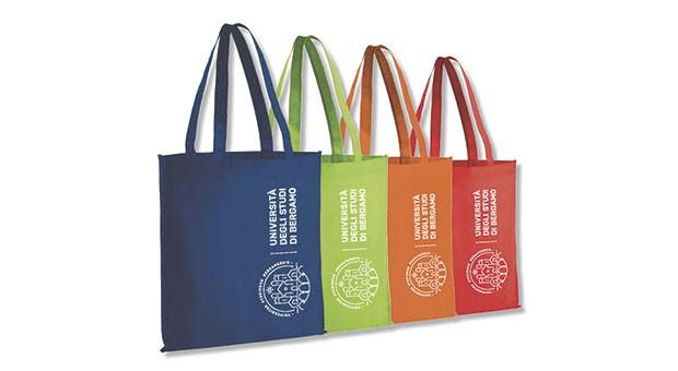 UniBg: nuovo merchandising in materiali biodegradabili